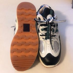 eytys Jet Turbo leather sneakers- lightly worn